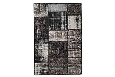 Patchworkmatta Black & White 102x153 Modern
