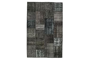 Patchworkmatta Black & White 120x180 Modern