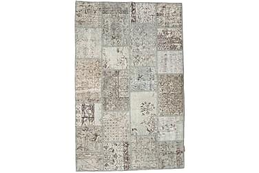 Patchworkmatta Black & White 120x184 Modern