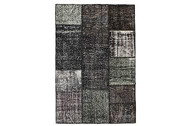 Patchworkmatta Black & White 121x182 Modern