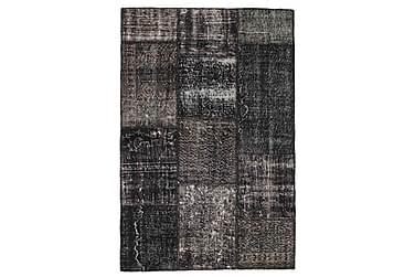 Patchworkmatta Black & White 121x184 Modern