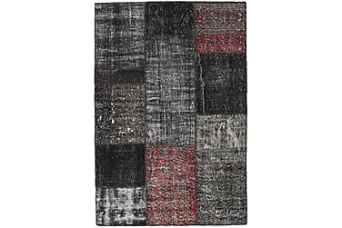 Patchworkmatta Black & White 124x183 Modern
