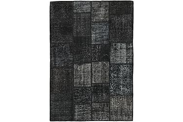 Patchworkmatta Black & White 137x200 Modern