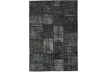 Patchworkmatta Black & White 137x200 Modern