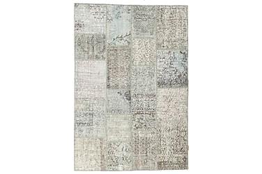 Patchworkmatta Black & White 137x202 Modern