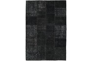Patchworkmatta Black & White 137x205 Modern