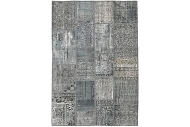 Patchworkmatta Black & White 138x200 Modern