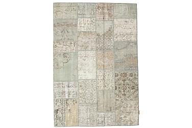 Patchworkmatta Black & White 138x201 Modern