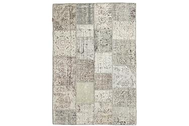 Patchworkmatta Black & White 138x202 Modern