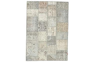 Patchworkmatta Black & White 139x201 Modern
