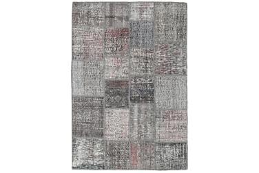Patchworkmatta Black & White 139x202 Modern