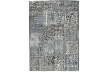 Patchworkmatta Black & White 140x201 Modern