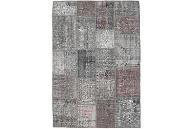 Patchworkmatta Black & White 140x202 Modern