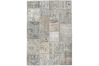 Patchworkmatta Black & White 141x203 Modern