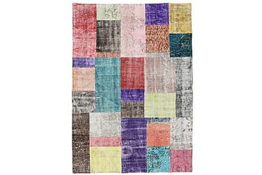 Patchworkmatta Black & White 142x201 Modern