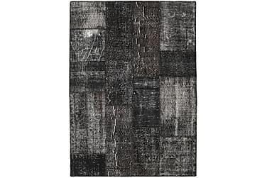 Patchworkmatta Black & White 143x199 Modern