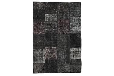 Patchworkmatta Black & White 156x230 Modern
