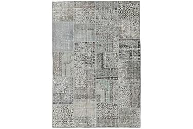 Patchworkmatta Black & White 157x230 Modern