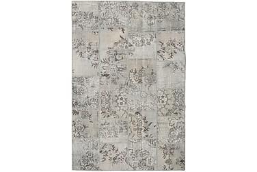 Patchworkmatta Black & White 157x231 Modern