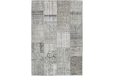 Patchworkmatta Black & White 157x232 Modern