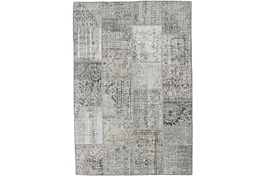 Patchworkmatta Black & White 157x234 Modern