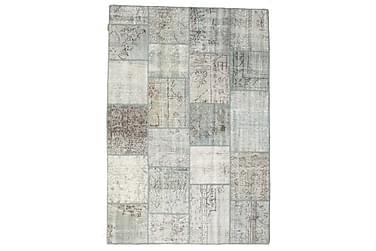Patchworkmatta Black & White 158x230 Modern