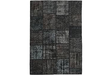 Patchworkmatta Black & White 158x230 Modern