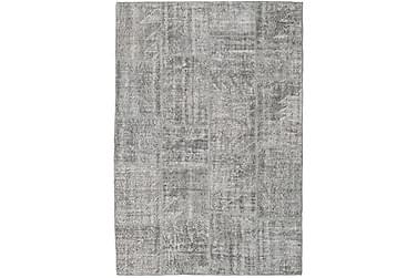 Patchworkmatta Black & White 158x231 Modern