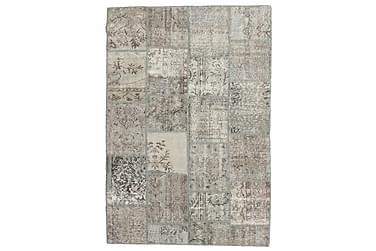 Patchworkmatta Black & White 158x232 Modern