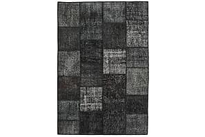 Patchworkmatta Black & White 158x234 Modern