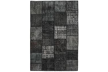 Patchworkmatta Black & White 158x234 Modern