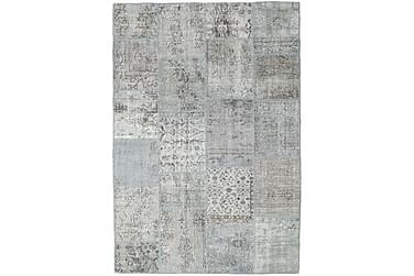 Patchworkmatta Black & White 159x231 Modern