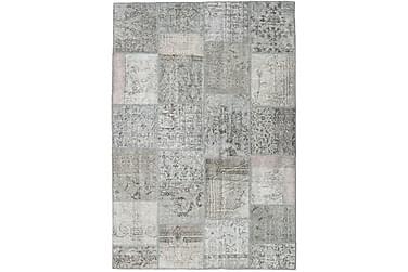 Patchworkmatta Black & White 159x233 Modern