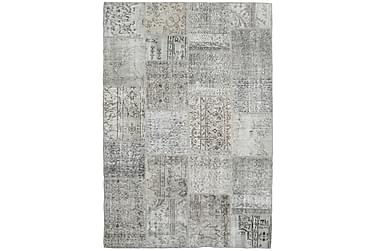 Patchworkmatta Black & White 159x233 Modern