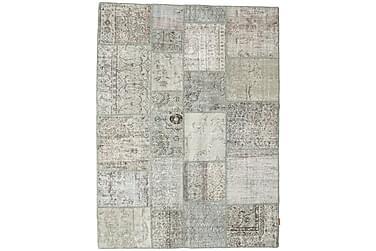 Patchworkmatta Black & White 171x228 Stor Modern