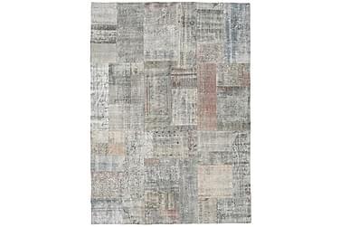 Patchworkmatta Black & White 173x240 Stor Modern