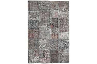 Patchworkmatta Black & White 196x302 Stor Modern