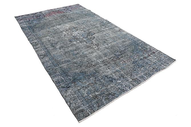 Patchworkmatta Colored Vintage 168x282 Stor - Blå Grå - Inredning - Mattor - Patchwork-matta