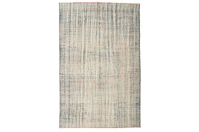 Patchworkmatta Colored Vintage 195x302 Stor - Beige|Grå - Inredning - Mattor - Patchwork-matta