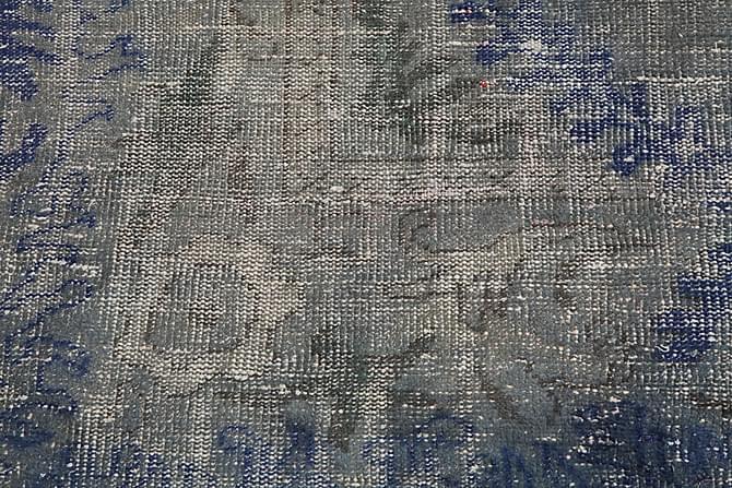 Patchworkmatta Colored Vintage 208x283 Stor - Blå - Inredning - Mattor - Patchwork-matta