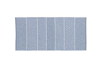 Matta Mix Alice 70x100 PVC/Bomull/Polyester Ljusblå