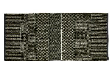 Matta Mix Alice 70x100 PVC/Bomull/Polyester Oliv