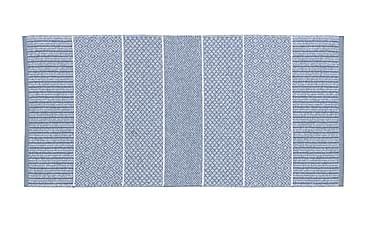 Matta Mix Alice 70x200 PVC/Bomull/Polyester Ljusblå