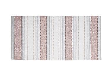 Matta Mix Anna 170x260 PVC/Bomull/Polyester Rosa