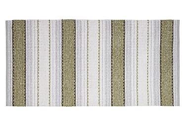 Matta Mix Anna 70x180 PVC/Bomull/Polyester Oliv
