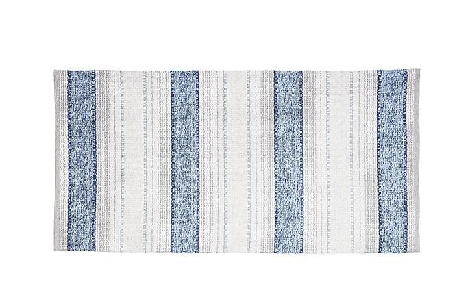 Matta Mix Anna 70x300 PVC/Bomull/Polyester Blå - Horredsmattan - Inredning - Mattor - Plastmattor