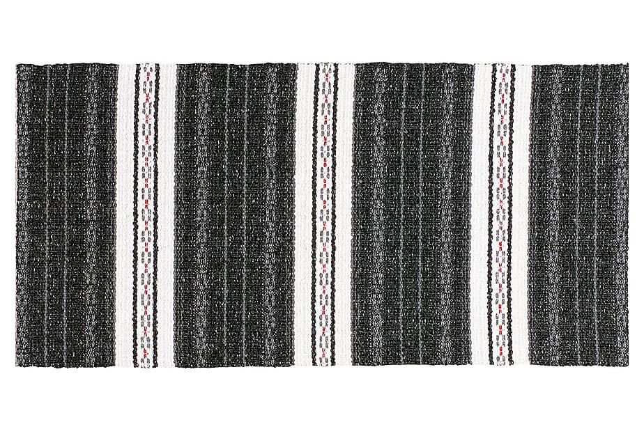 Matta Mix Asta 70x260 PVC/Bomull/Polyester Svart