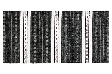 Matta Mix Asta 70x300 PVC/Bomull/Polyester Svart