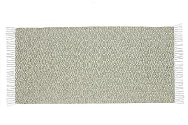 Matta Mix Goose 150x250 PVC/Bomull/Polyester Grön