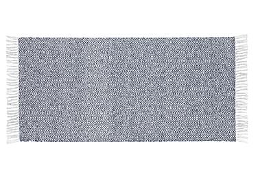 Matta Mix Goose 70x350 PVC/Bomull/Polyester Blå